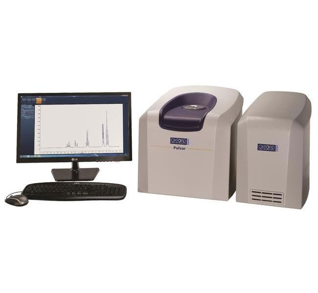Pulsar is a high-resolution, 60MHz benchtop NMR spectrometer, providing 1- and 2-D NMR spectra of 1H, 19F, 13C and other nuclei.